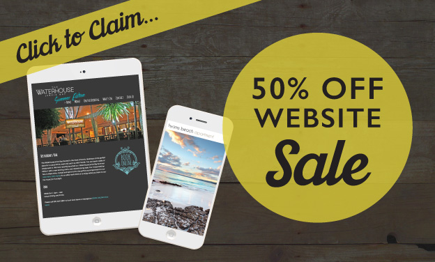 Website Sale 50% off Nowra
